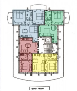 piantina appartamenti